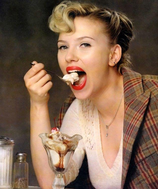 Scarlett Johansson - a smart and luscious inspiration
