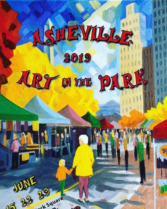 It's brisk and Art in the Park is in full swing for the next 3 weekends! Come see us today. We're serving our custom liquor-infused ice cream right out of our vintage postal truck. Let's celebrate Asheville's vibrant art scene and community! 🖼 👩‍🎨 🍦🍨 ♥️🍾 . . @ashevilleartinthepark #adulticecream #topshelf #smallbatch #liquorinfused #ashevilleartinthepark2019 #packsquare #artcommunity