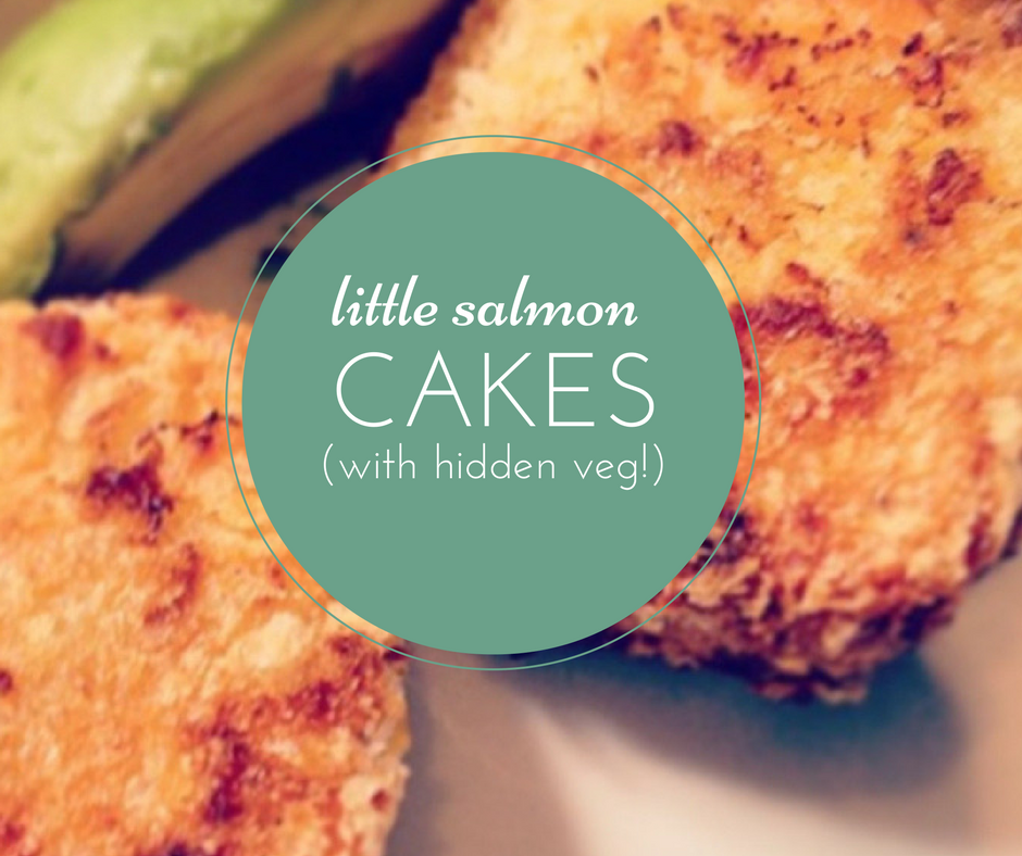 salmon-cakes-veg