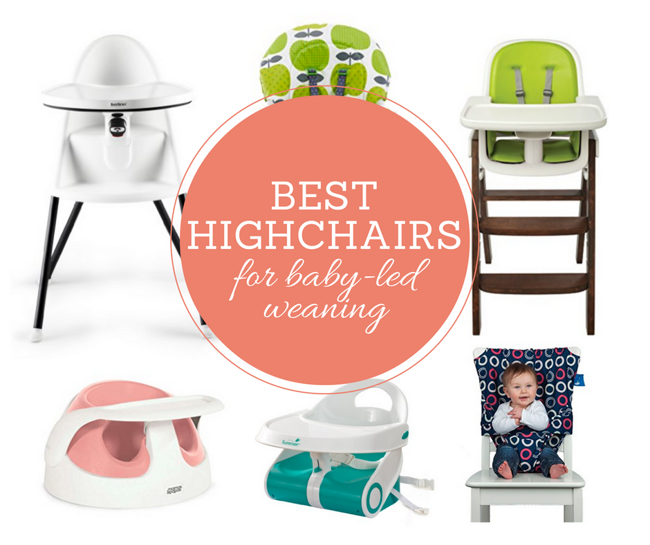 Best highchairs for baby led weaning