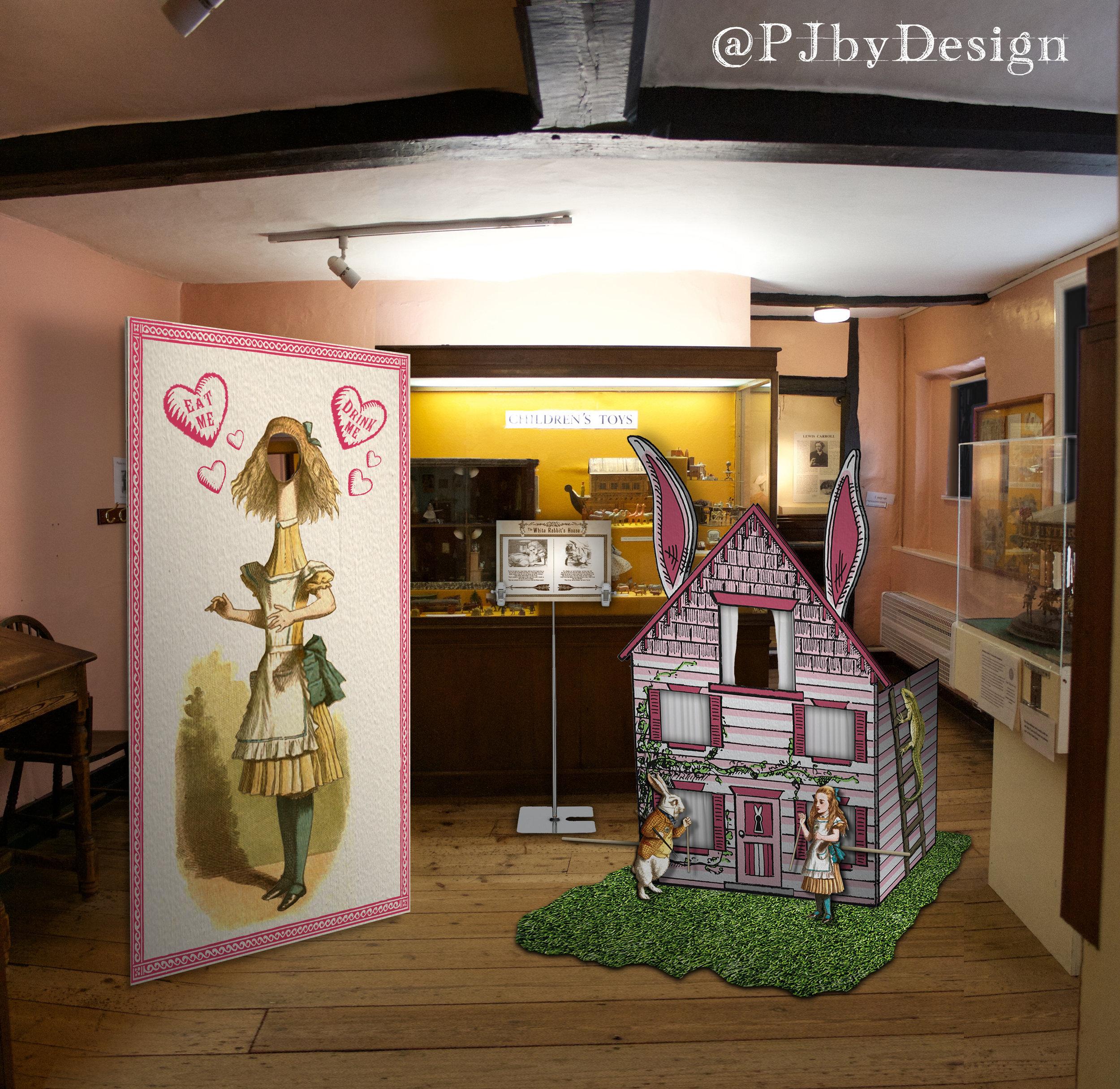 12 White Rabbits House Set.jpg
