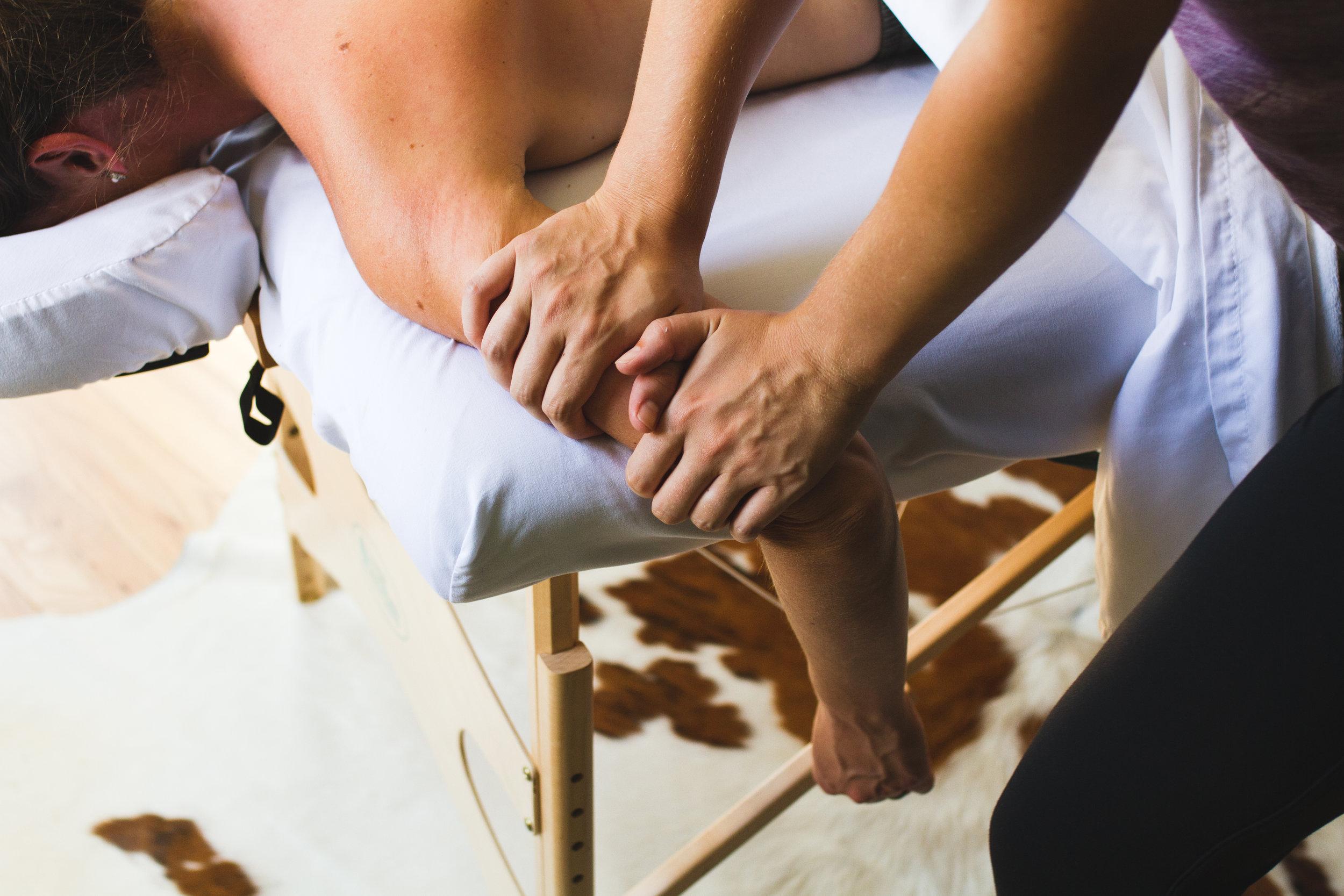 Working Portrait Massage Detail