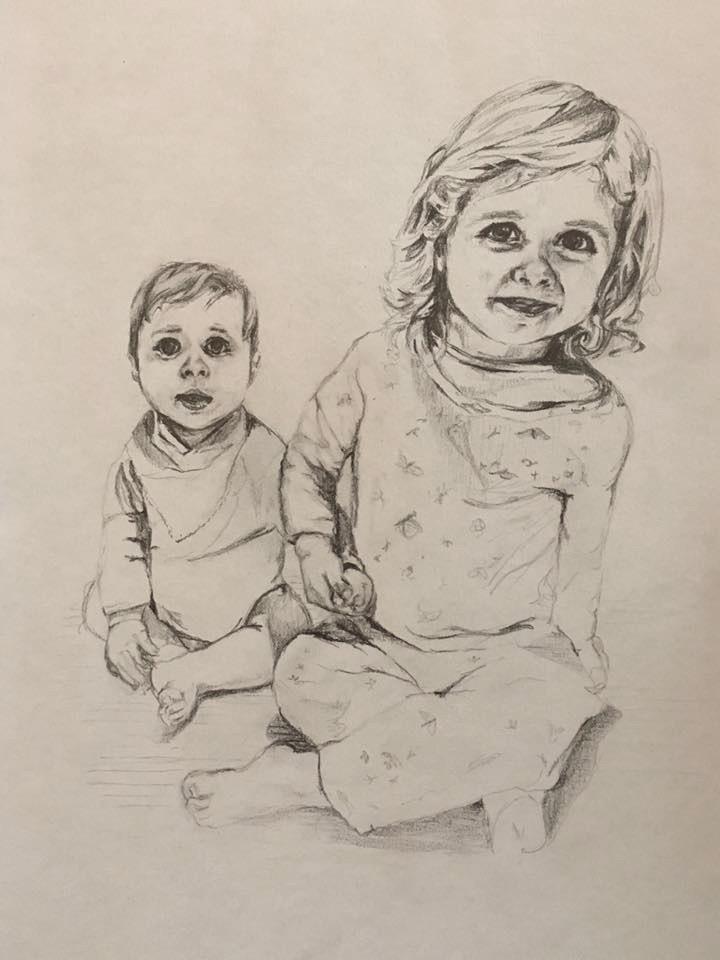 Annie-Abbatt-Pencil-Portrait-Drawing-Children-Pia-Edward
