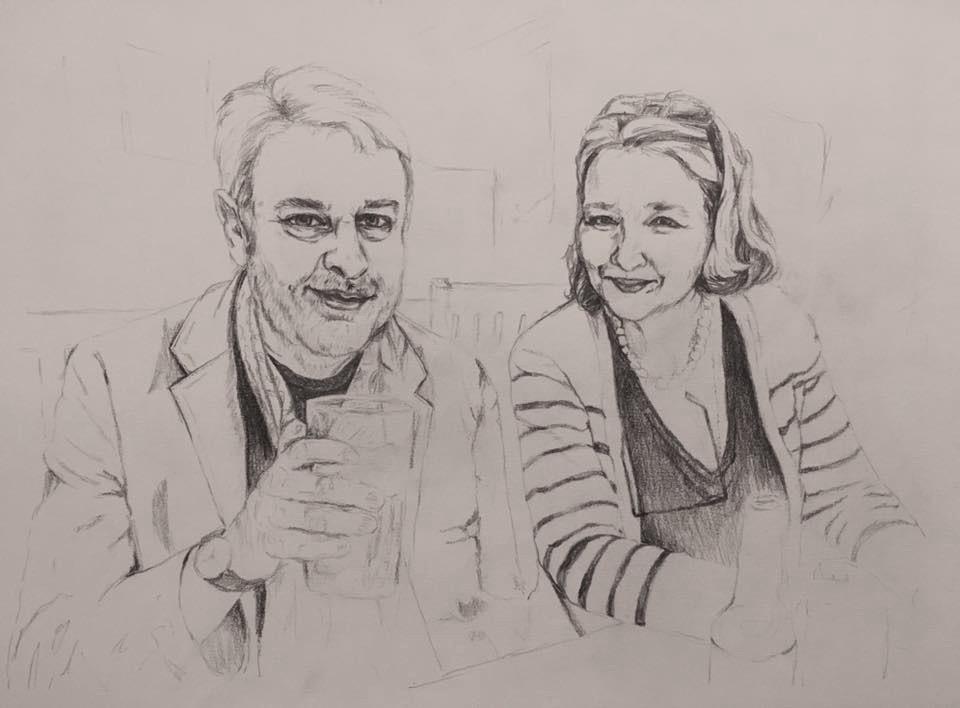 Annie-Abbatt-Pencil-Portrait-Drawing-Couple