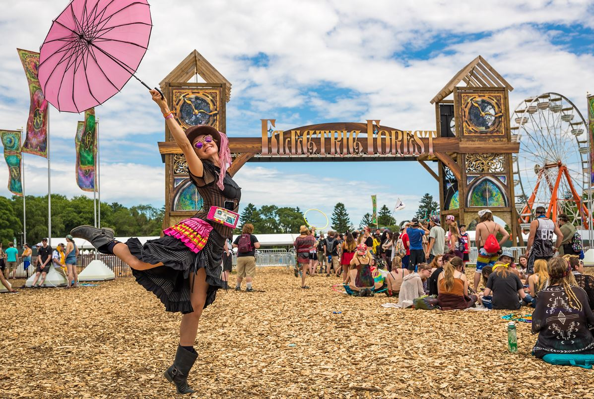 Electric Forest Music Festival 2019 - Mocktails for the curious & Artist Hospitality