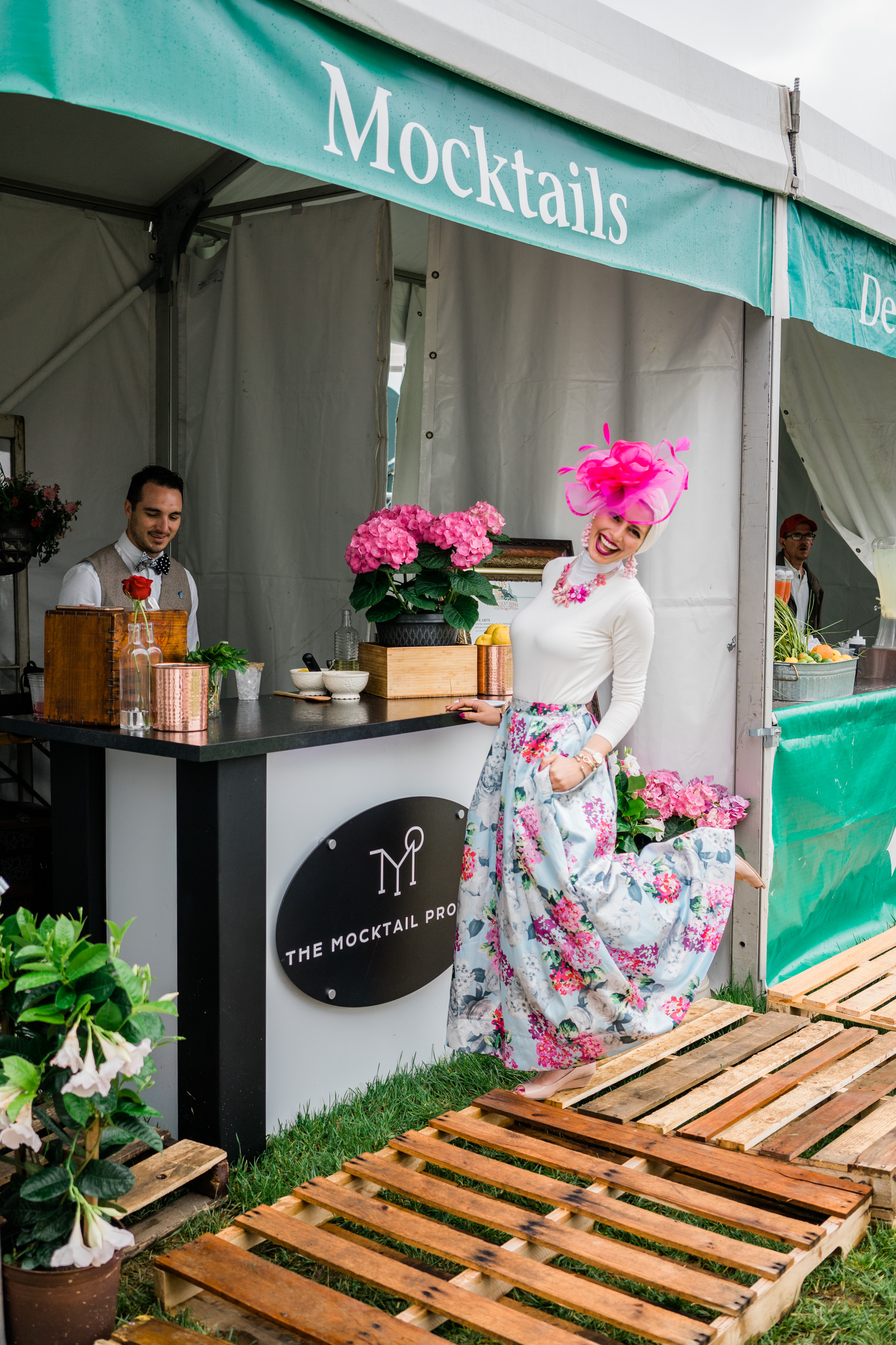 Kentucky Oaks & Derby 2019 - A collaborative effort with Old Forester to craft & serve the First ever Mocktails at Churchill Downs