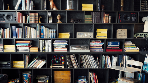 """Explore Our Marketing Bookshelf - Explore our curated collection of Career Books for Marketing Students.""""Never trust someone who hasn't brought a book with them."""" - Lemony Snicket"""