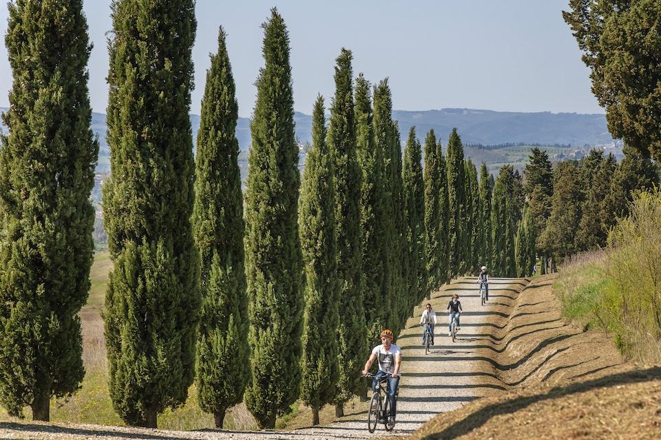 Photo courtesy of  Toscana by Bike