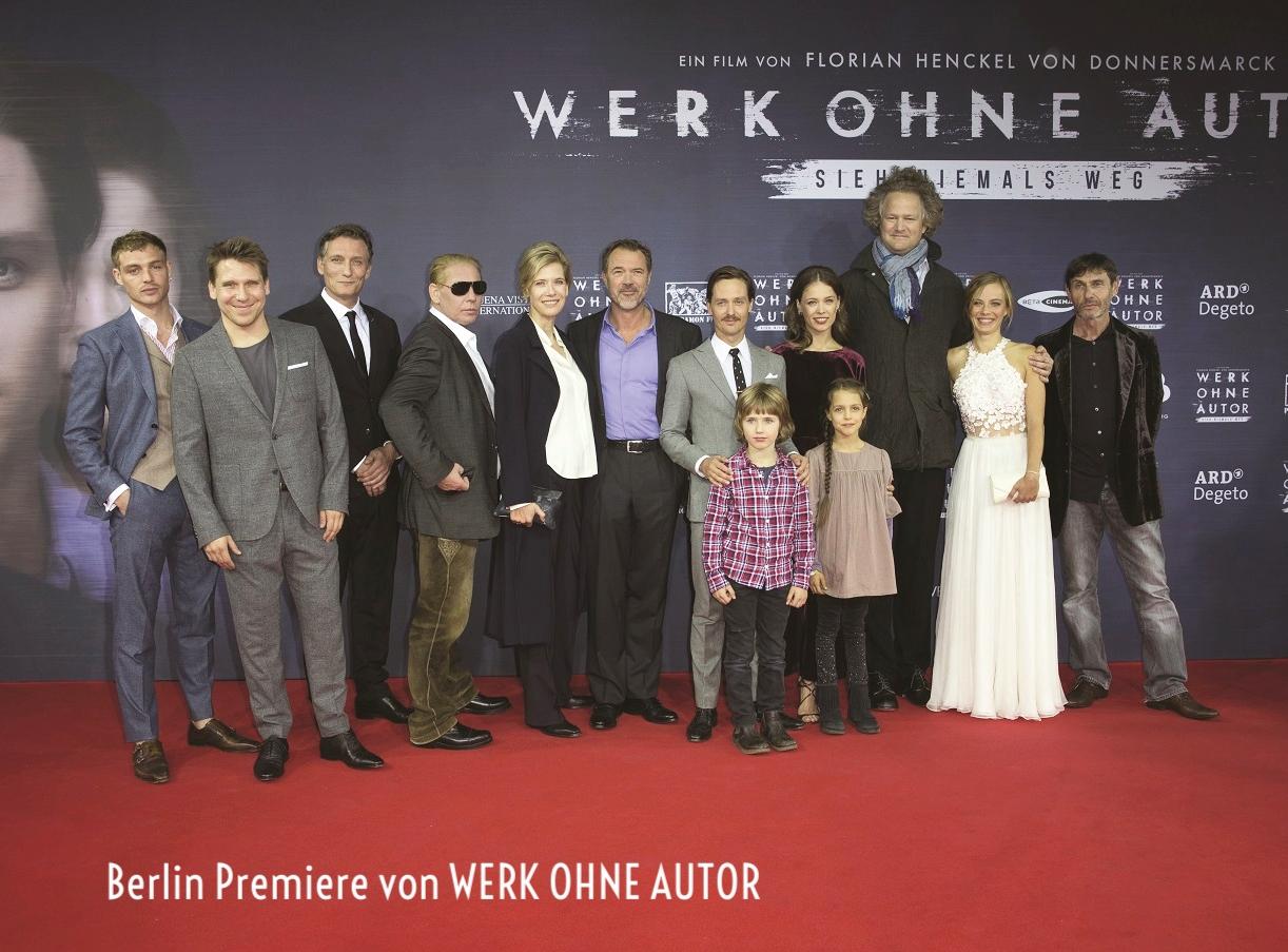 Deutschlandpremiere von WERK OHNE AUTOR in Berlin