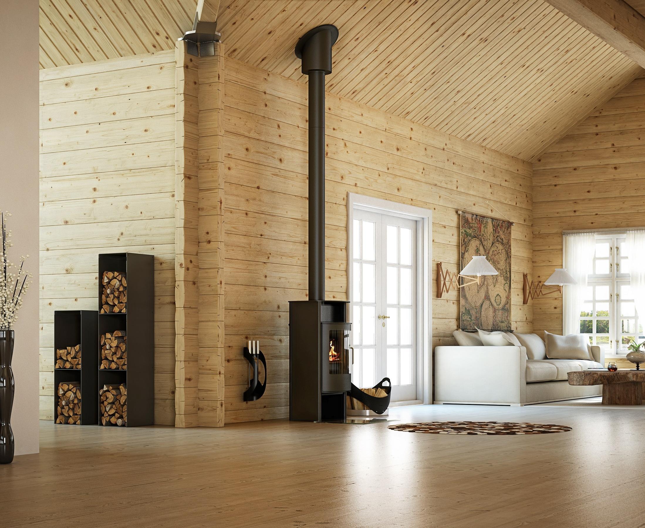 Rais Malta - wood stove - 27,000 peak btu/hr