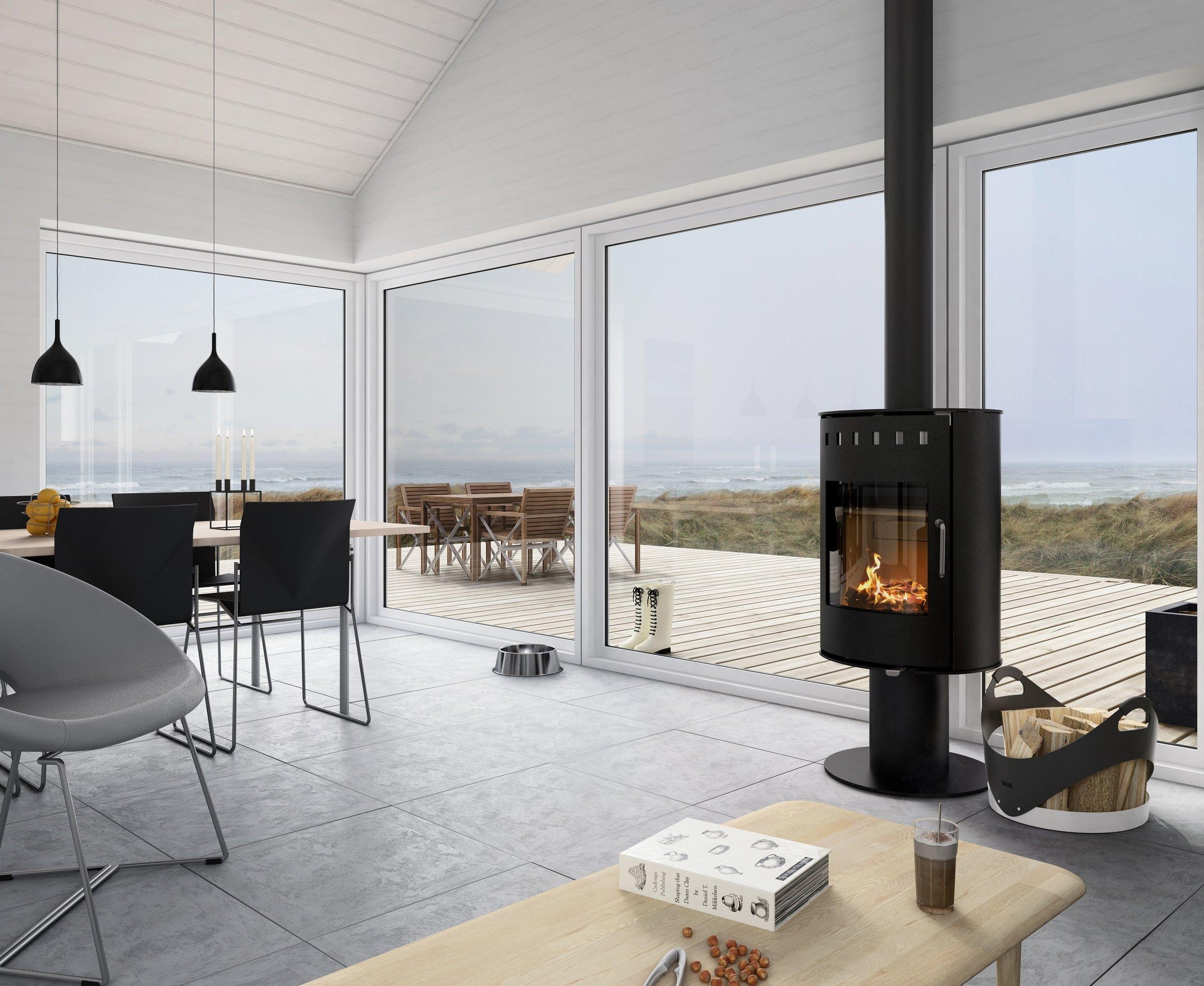 Rais Pina - wood stove - 15,400 peak btu/hr