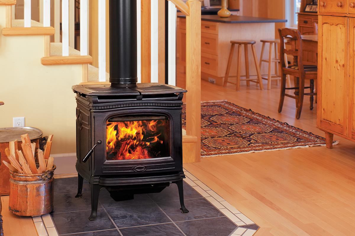 Pacific Energy Alderlea T4 - non-catalytic wood stove - 56,000 peak btu/hr