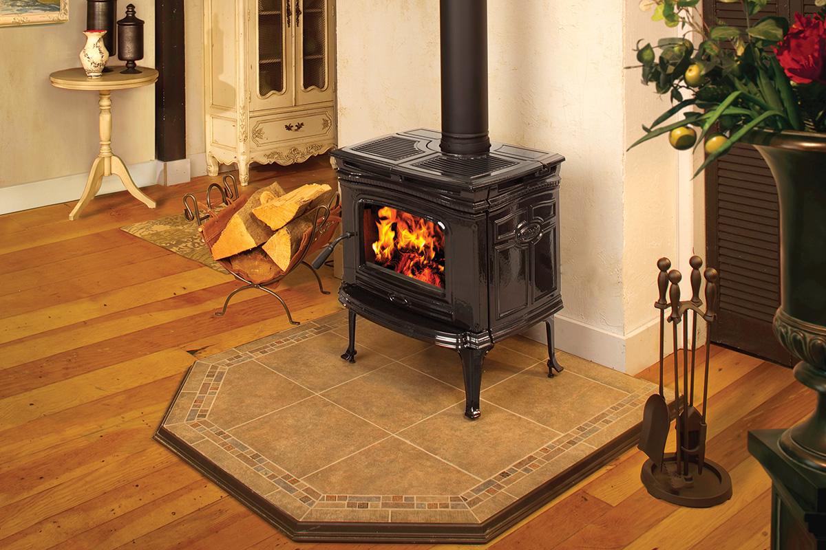 Pacific Energy Alderlea T4 Classic - non-catalytic wood stove - 56,000 peak btu/hr