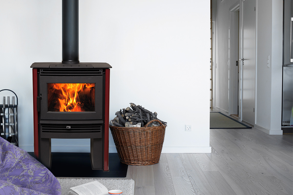 Pacific Energy Neo 1.6 - non-catalytic wood stove - 70,000 peak btu/hr