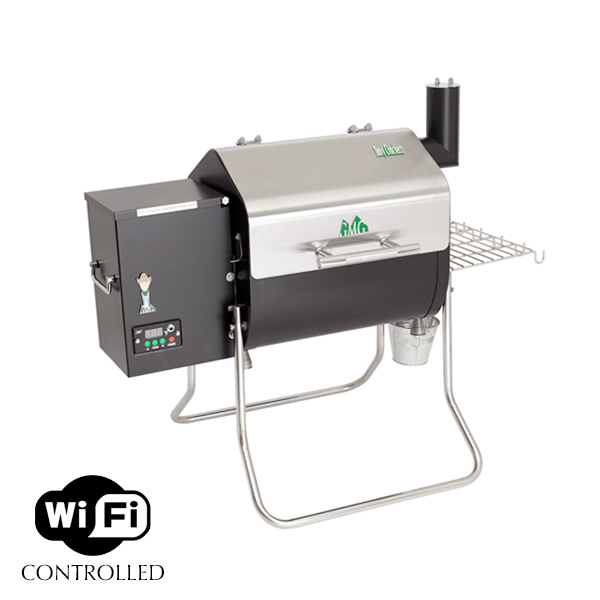 Green Mountain Grills - Davy Crockett - stainless steel - WiFi - pellet grill