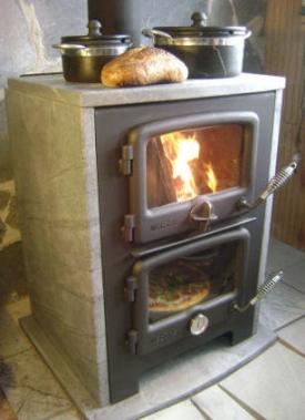 Vermont Bun Baker 750 - wood cookstove