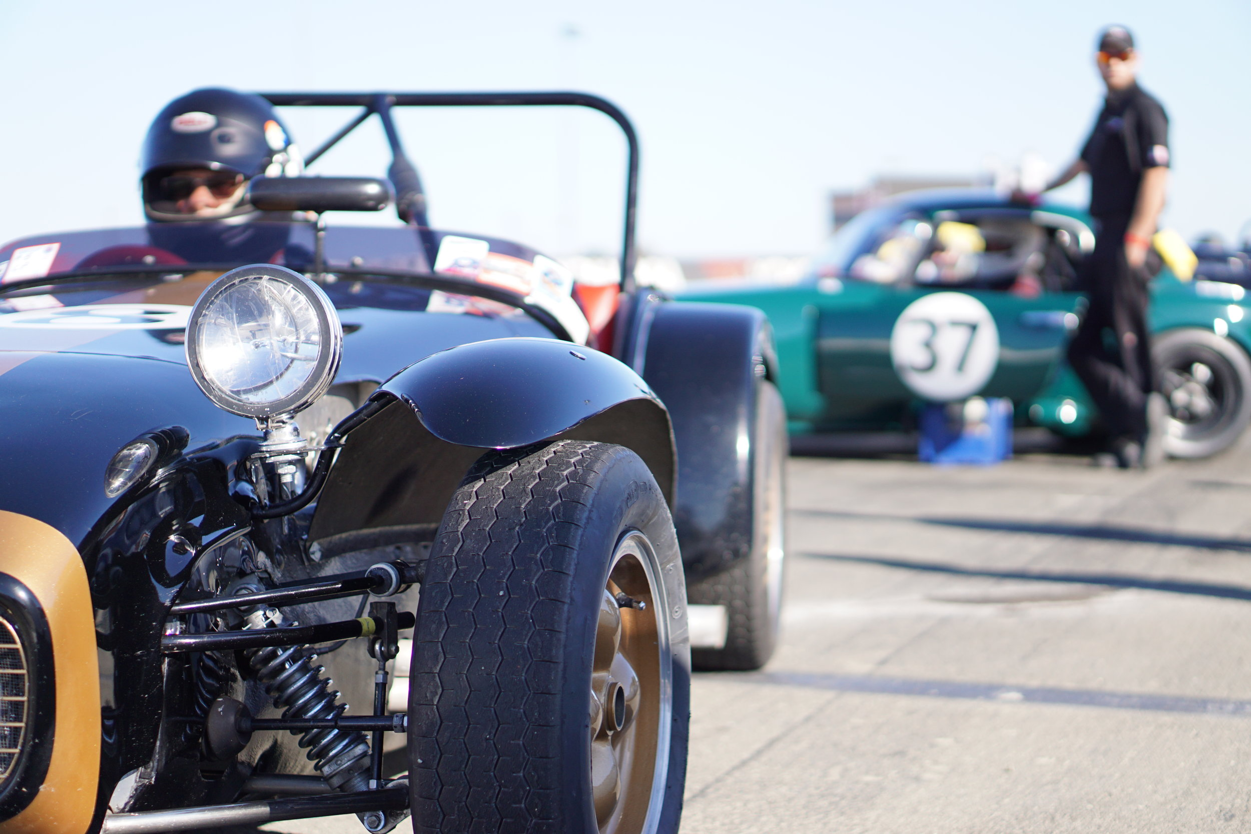 Lotus 7, light, incredible handling, simple, a blast to drive, great parts support