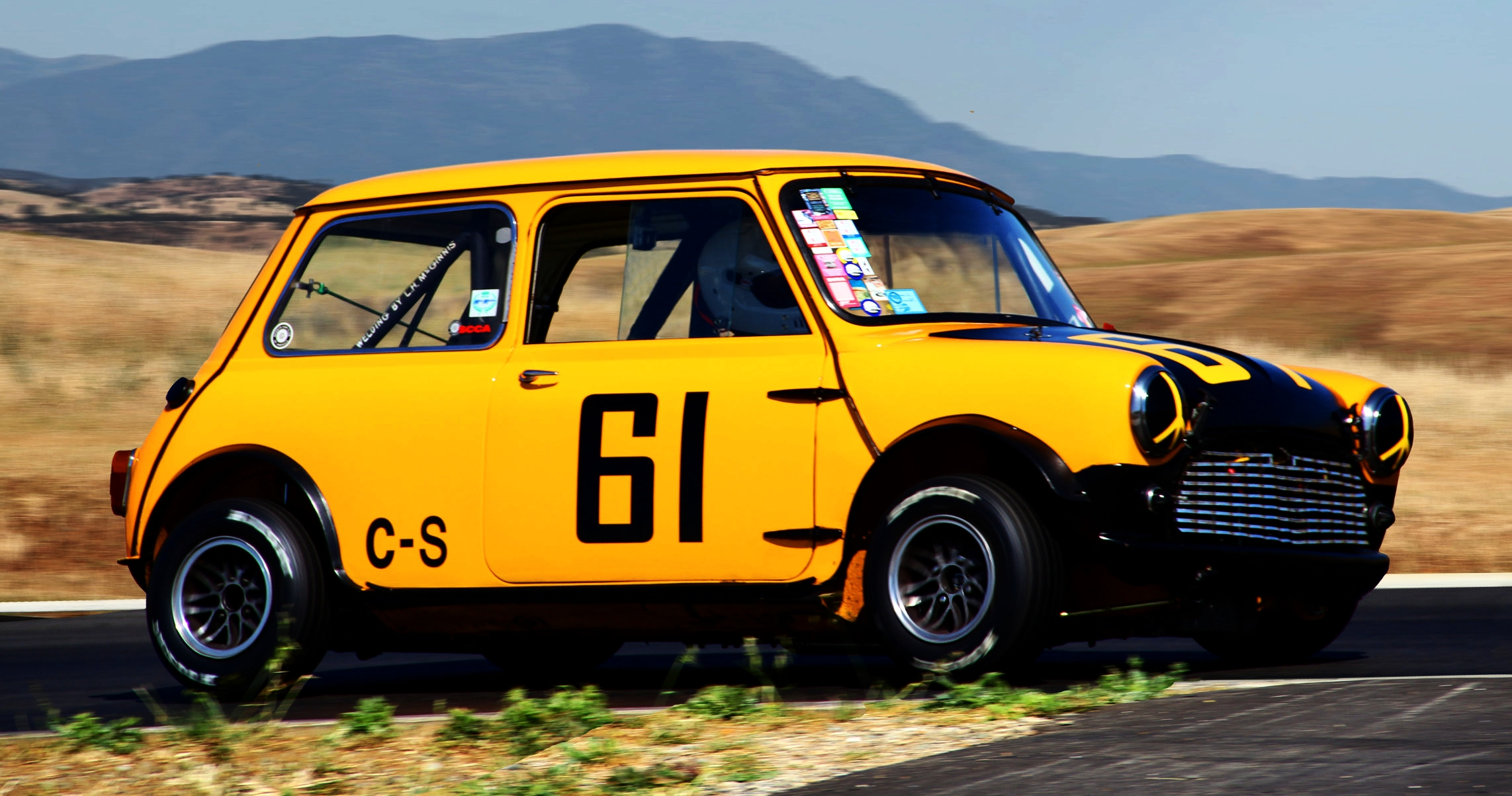 Classic Minis make fantastic race cars, silly amounts of fun