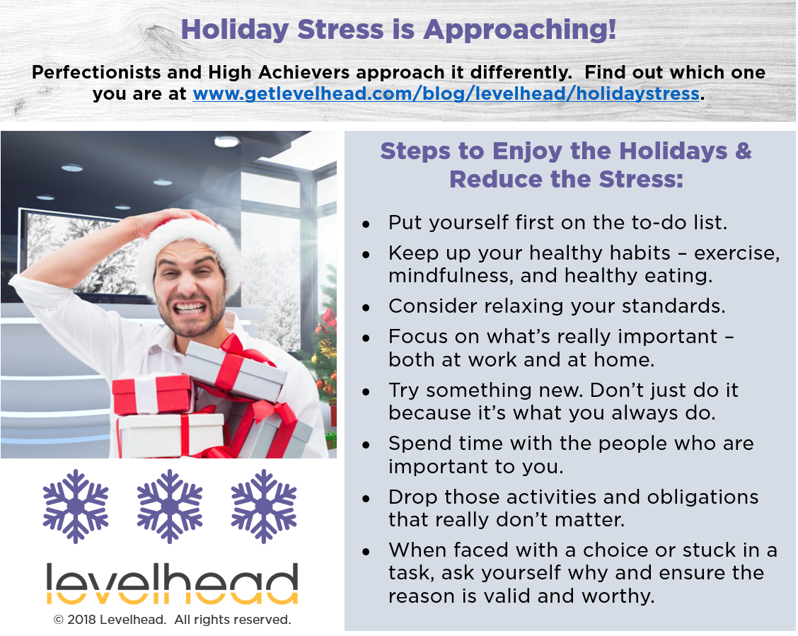 Print and post to help you reduce holiday stress!