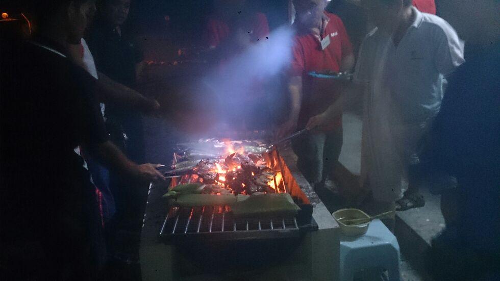 BBQ pits/dinner