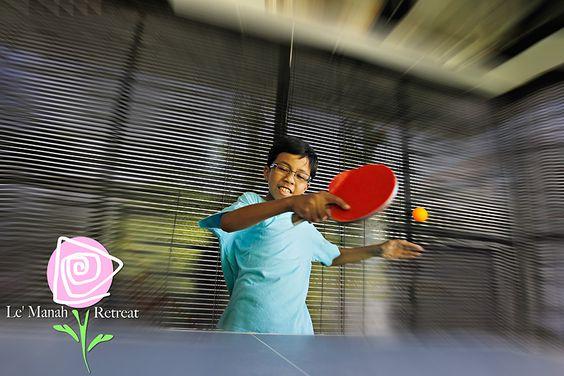 Ping-pong table can be rented at Open Pond Hall