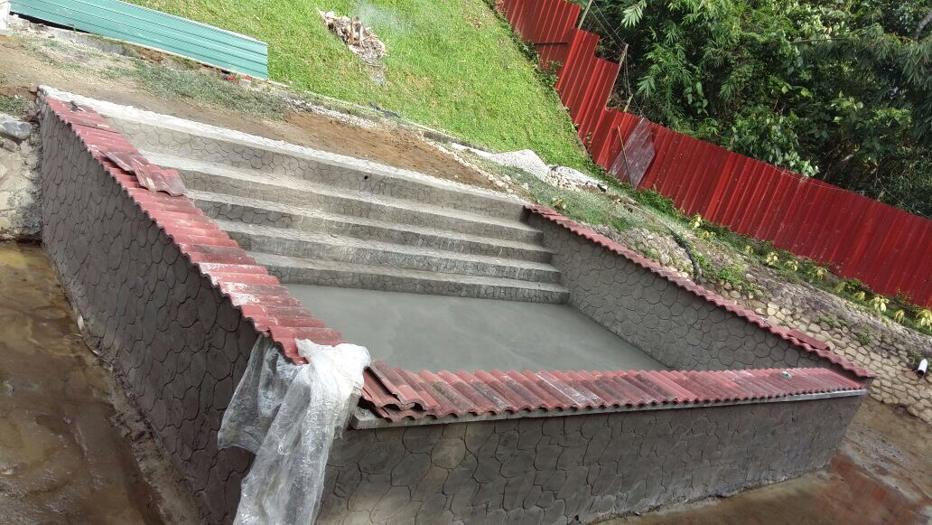 New pool will be supplied by fresh mountain water, away from any settlements.