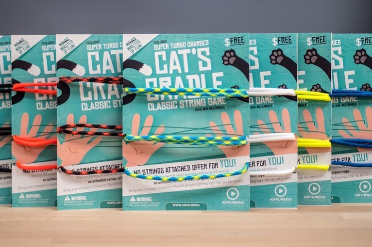 Cat's Cradle No-Strings-Attached Offer for the 2018 CIMPA Conference Gift Bags