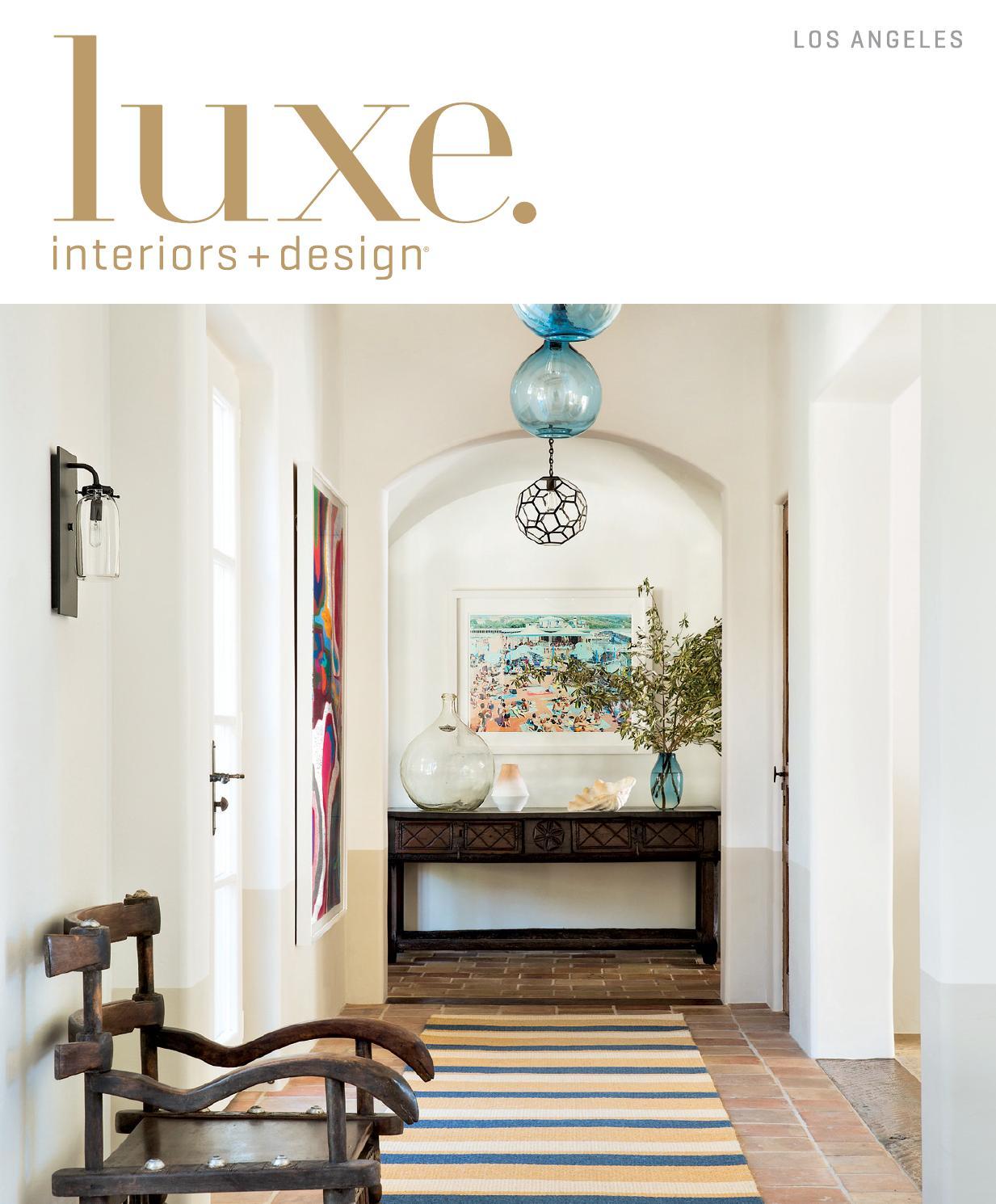 LUXE Interiors + Design - LOS ANGELES