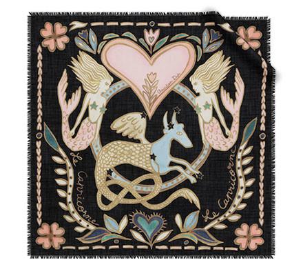 DIOR Capricorn Silk Scarf