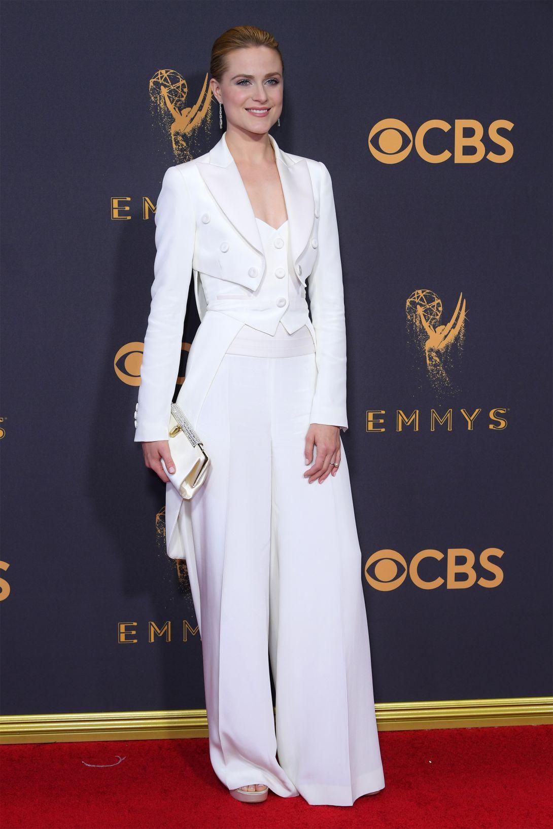 Evan Rachel Wood wearing Jeremy Scott