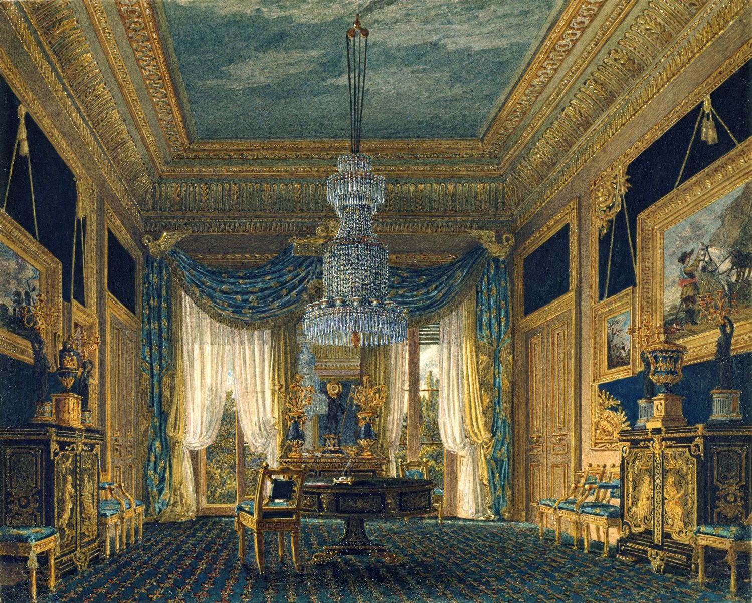Carlton House, The Blue Velvet Closet