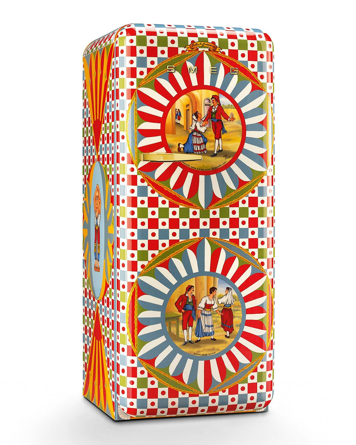 Dolce&Gabbana X SMEG - House of Monsters Fridge