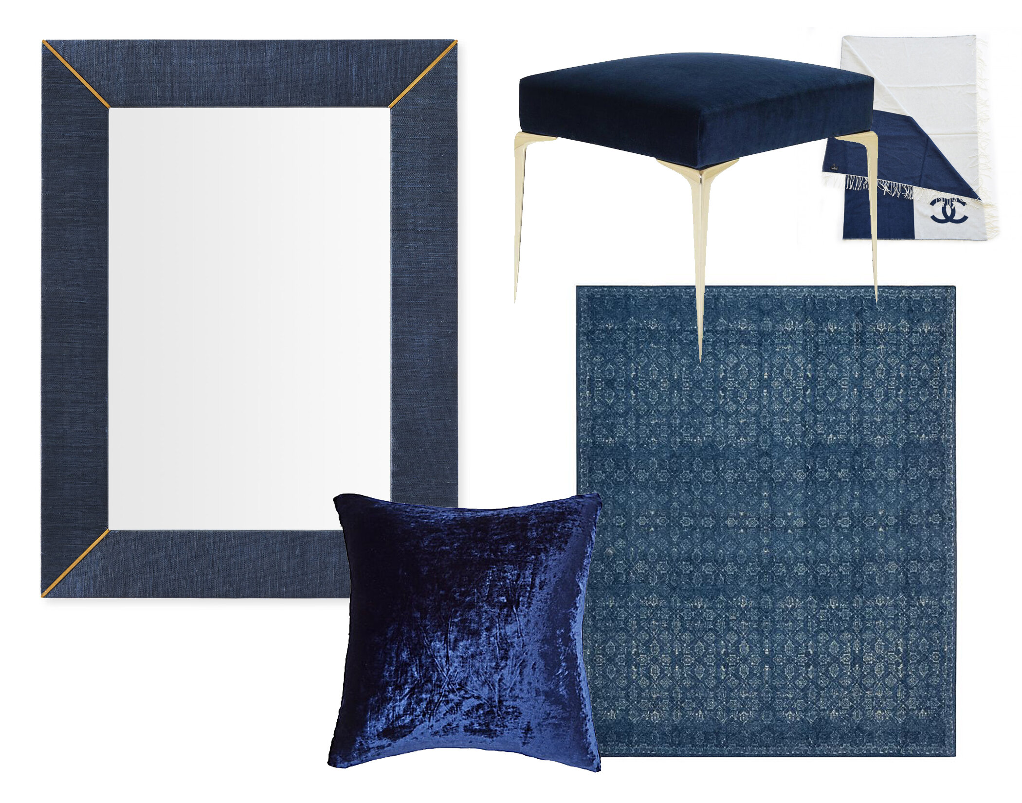 MIRROR  |  THROW  |  OTTOMAN  |  RUG  |  PILLOW