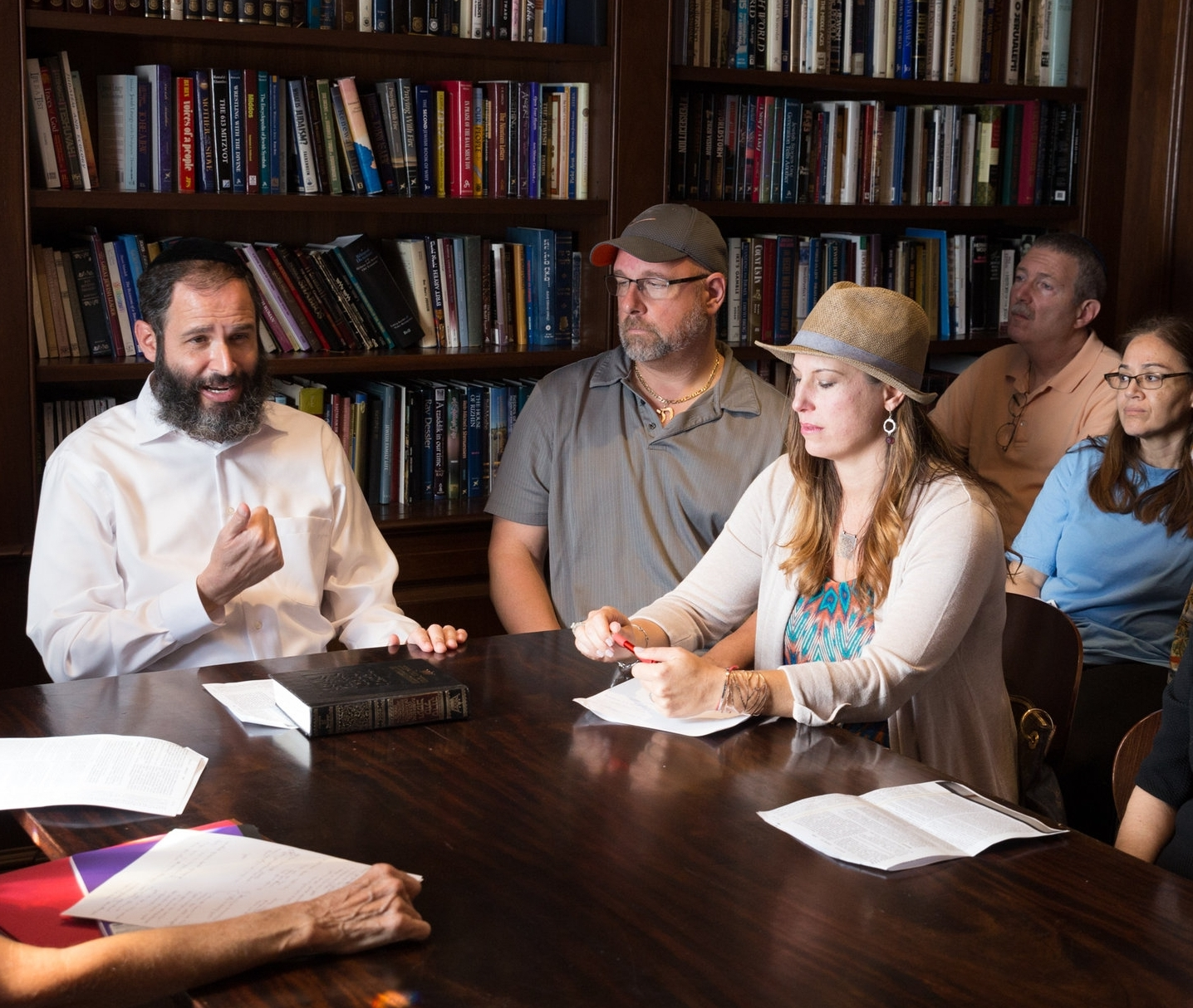 Talmudic Tales - THE MYSTERY, MAGIC AND MECHANICS OF MIDRASHSundays, 11:30 am - 12:30 pmParents of Hebrew School and Maimonides students and the community are invited to gain insight into Midrash and the eternal truths and values they convey.