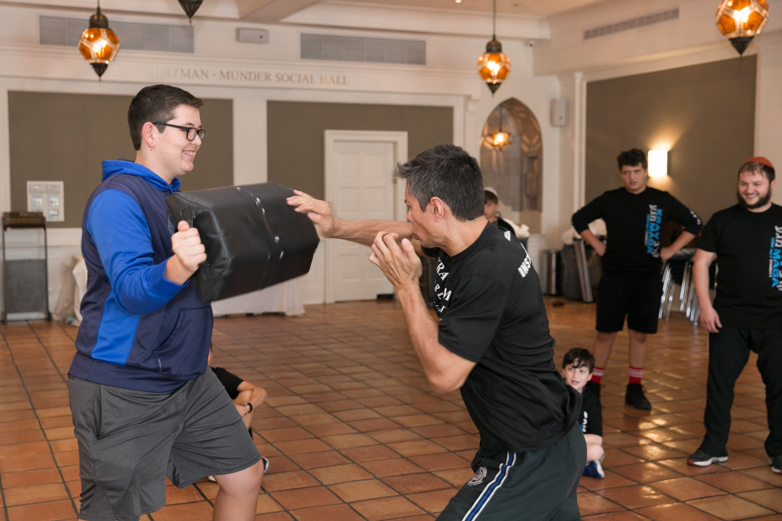 Krav Maga - MonthlyFirst developed by the Israeli army back in the 1940s, Krav Maga is a form of self-defense that is widely practiced today all over the world. Join other Jewish teens for this incredible opportunity! The physical training is great exercise and stress reliever.