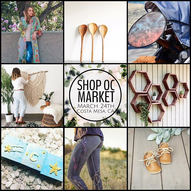 """TOMORROW IS THE DAY!🙌🏼💃🏼🍾🍩 Who is ready?! We will be posting throughout the day and night as we get ready for the biggest event yet: The Spring Shop OC Market is sure to knock your socks off tomorrow! 65 beyond talented and amazing shops come together to being you a luxury and eclectic shopping experience. ✖️ALL VENDORS THAT WILL BE PARTICIPATING TOMORROW CAN BE FOUND IN """"THE SHOPS"""" AND """"THE EXTRAS"""" IG STORY REEL'S AT THE TOP OF OUR PROFILE✖️ We love our vendors and can't wait to see returning and meet new faces! Tap photo for details on just a few of the amazing shops that will be there👆🏼 We'll see you soon Orange County!"""