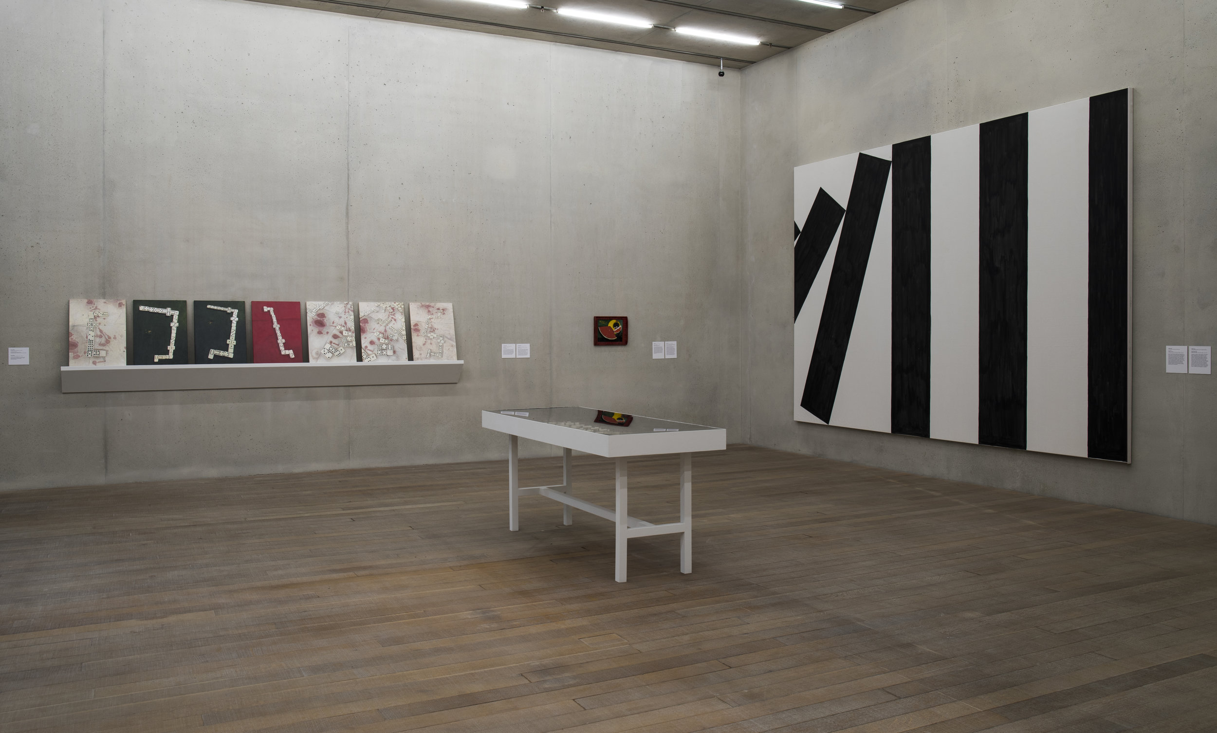 Spots, Dots, Pips, Tiles at PAMM: exhibition view