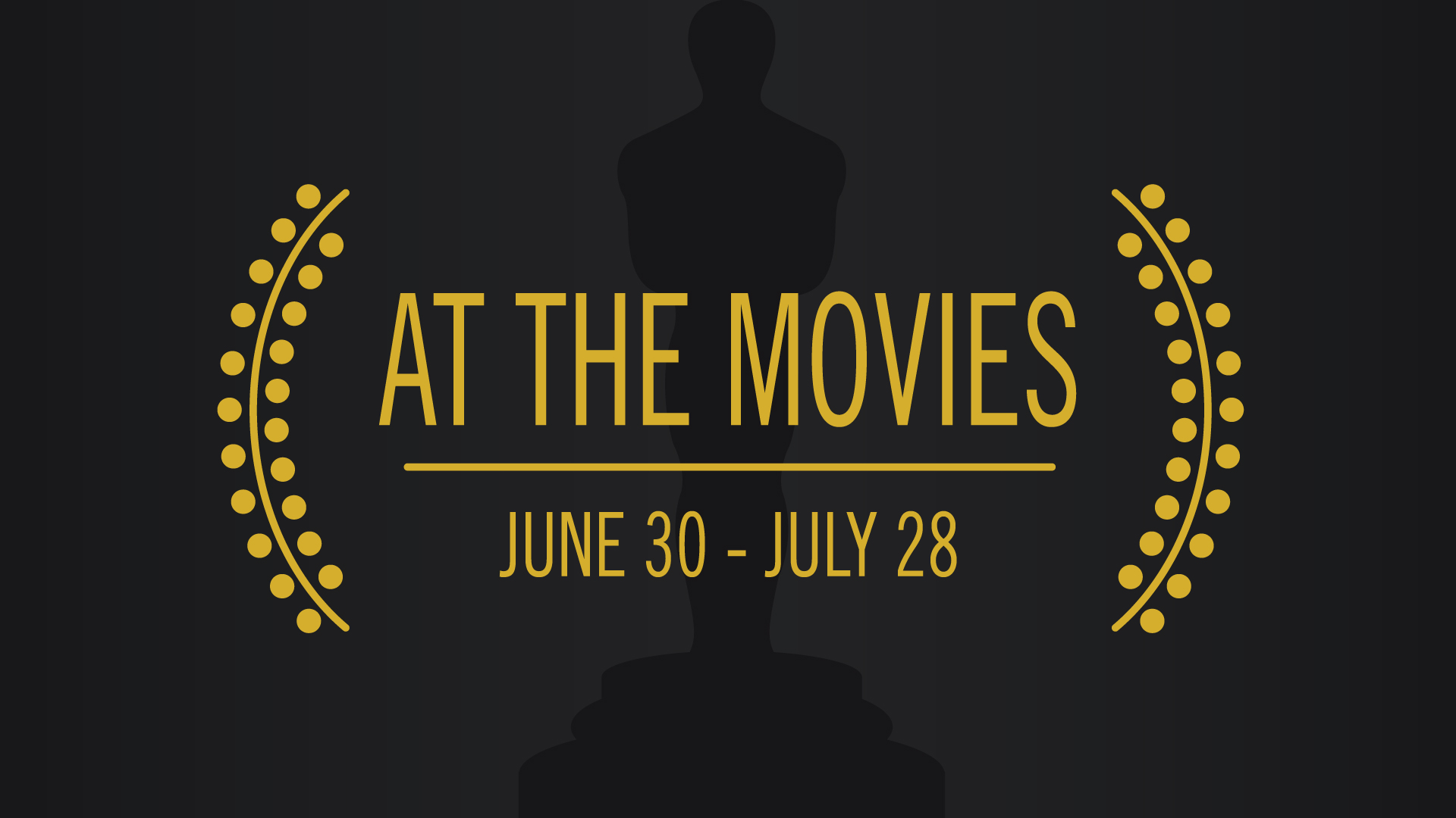 We are AT THE MOVIES this summer - and you're invited! Join us as we watch some of our favorite new movies and then talk about different Gospel truths we see in them!