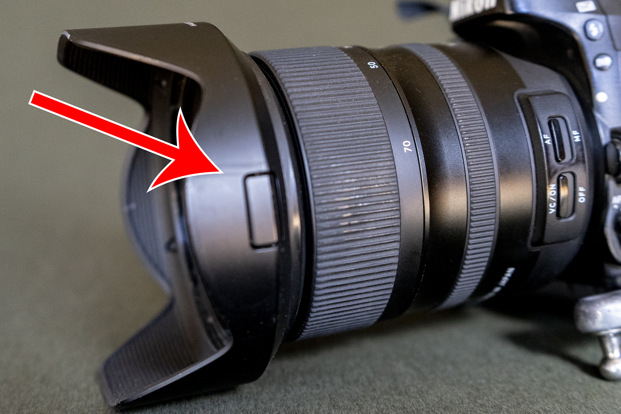 - Greatest lens hood ever!