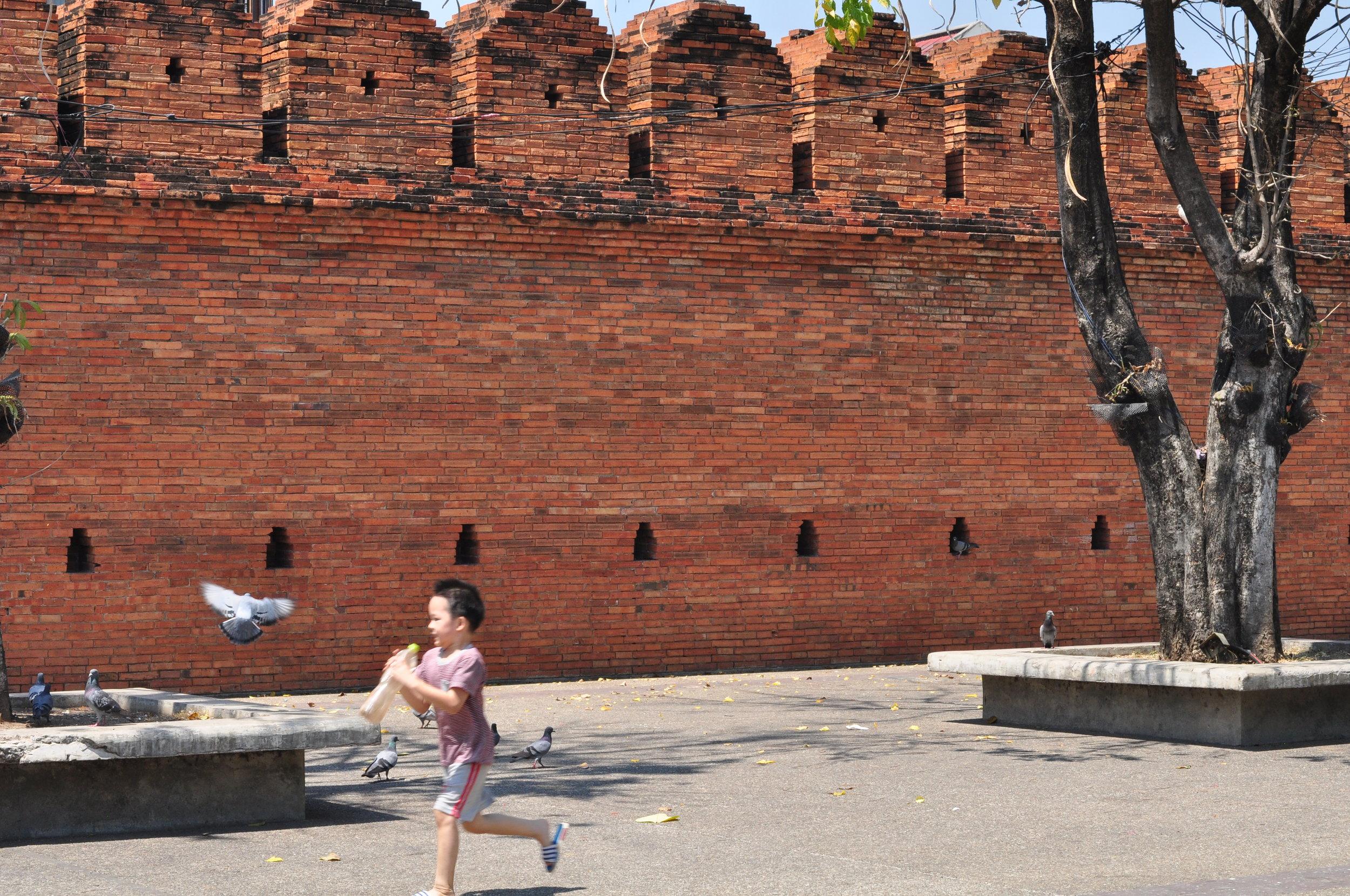 Old City Wall, Chiang Mai.