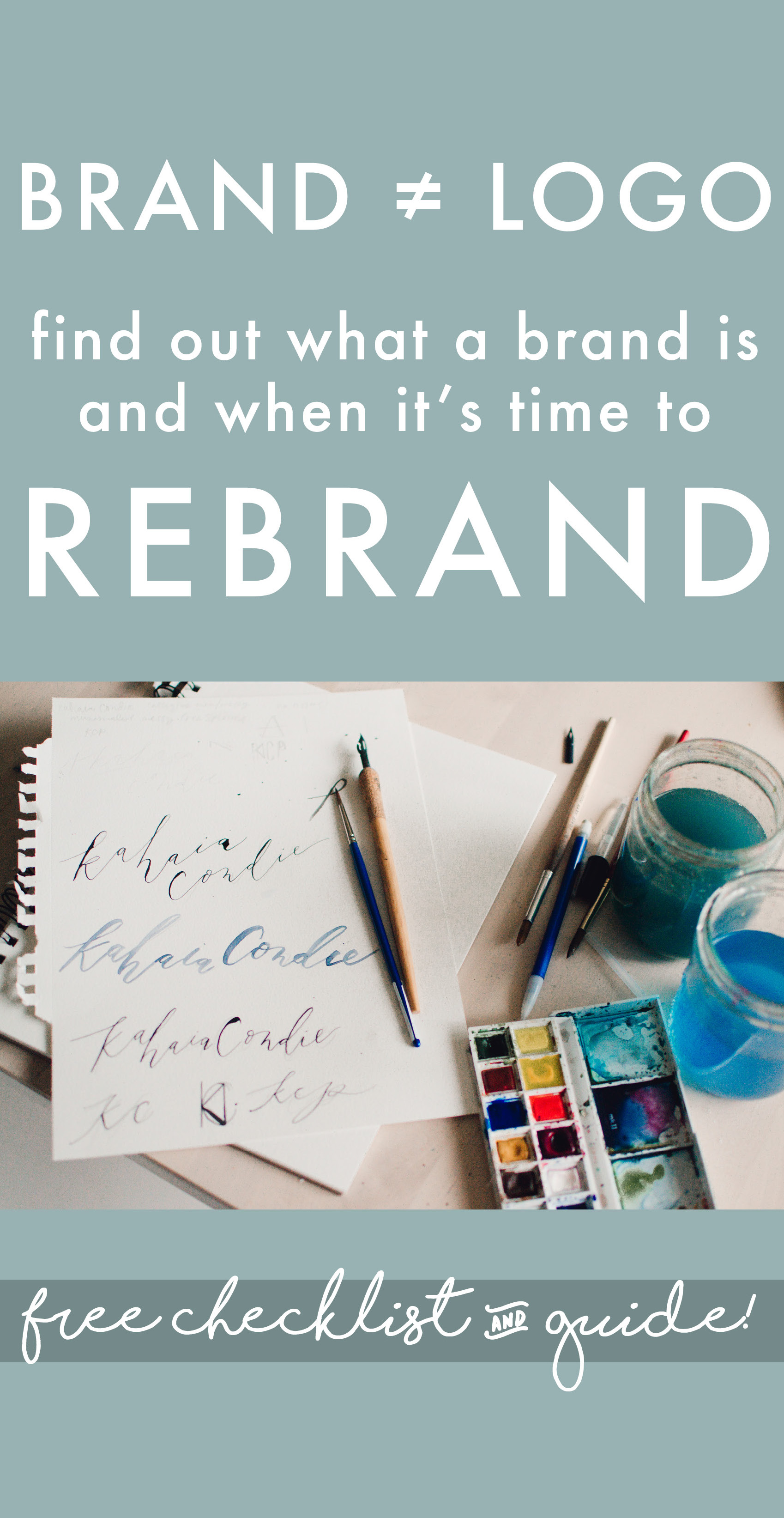 When to rebrand