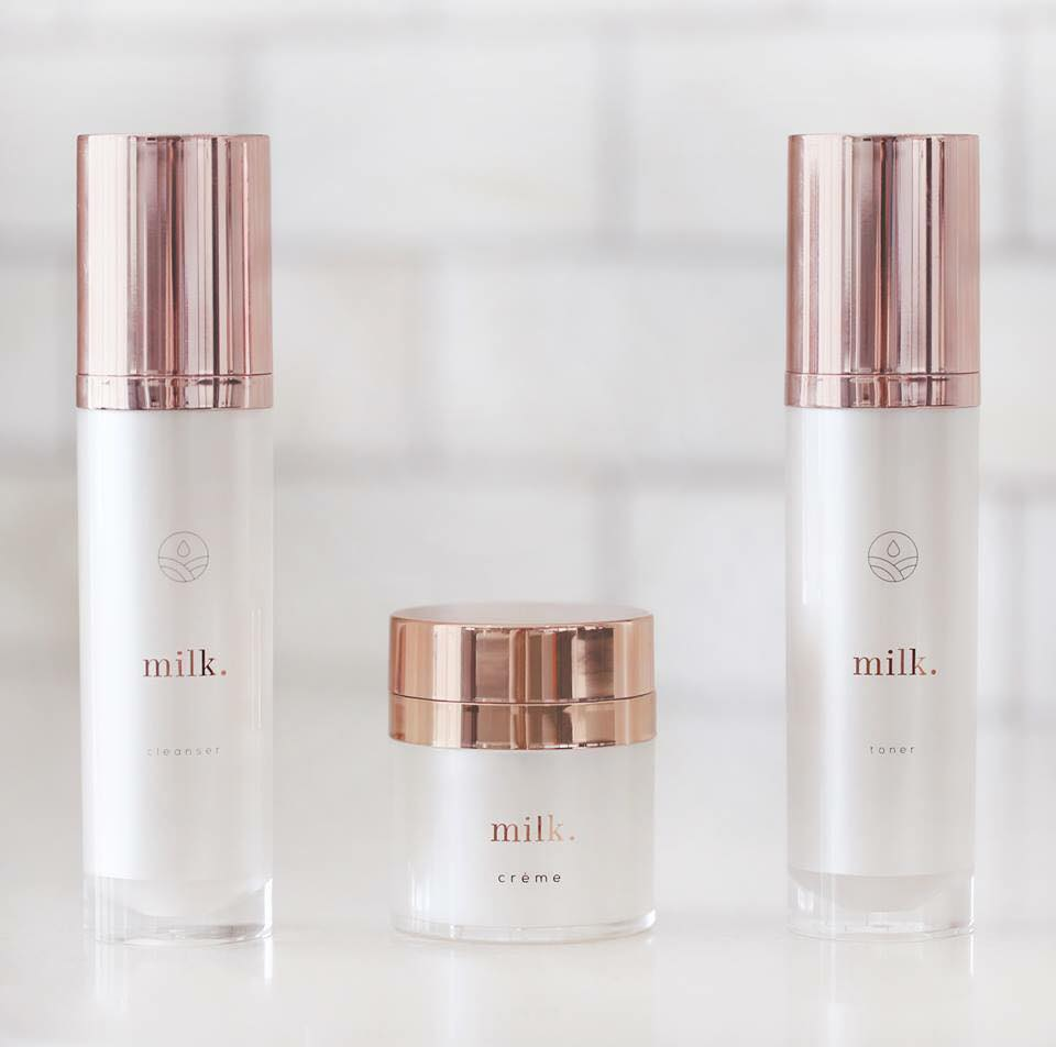 Milk is an excellent skin maintenance system that will continually facilitate new skin cell generation, exfoliation, and moisture retention. Cleanse, tone, and moisturize without stripping or irritating the skin, while also retaining the natural acid and lipid protective cover of the skin.