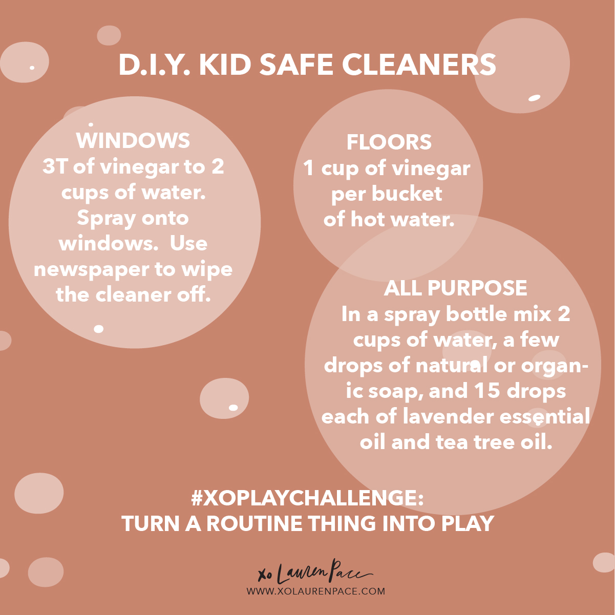 """I also like to give him FULL ACCESS to all my safe cleaning supplies. Today I shared some """"clean"""" cleaning recipes above, but mostly I use a spray bottle of water and Norwex Microfiber clothes. I have a kids set that includes on for windows/mirrors, one for dusting and one for all surfaces. It hangs on his art shelf downstairs right next to his mop and broom from Melissa and Doug.   This boy clears his spot every night after dinner. Wipes his table and chair and then continues to empty the bottle by spraying and cleaning the cupboards, floor and dogs.   I love including him in the routines because even if I didn't have the change to build a castle with him, I spent the day involving him and sharing my world with him."""