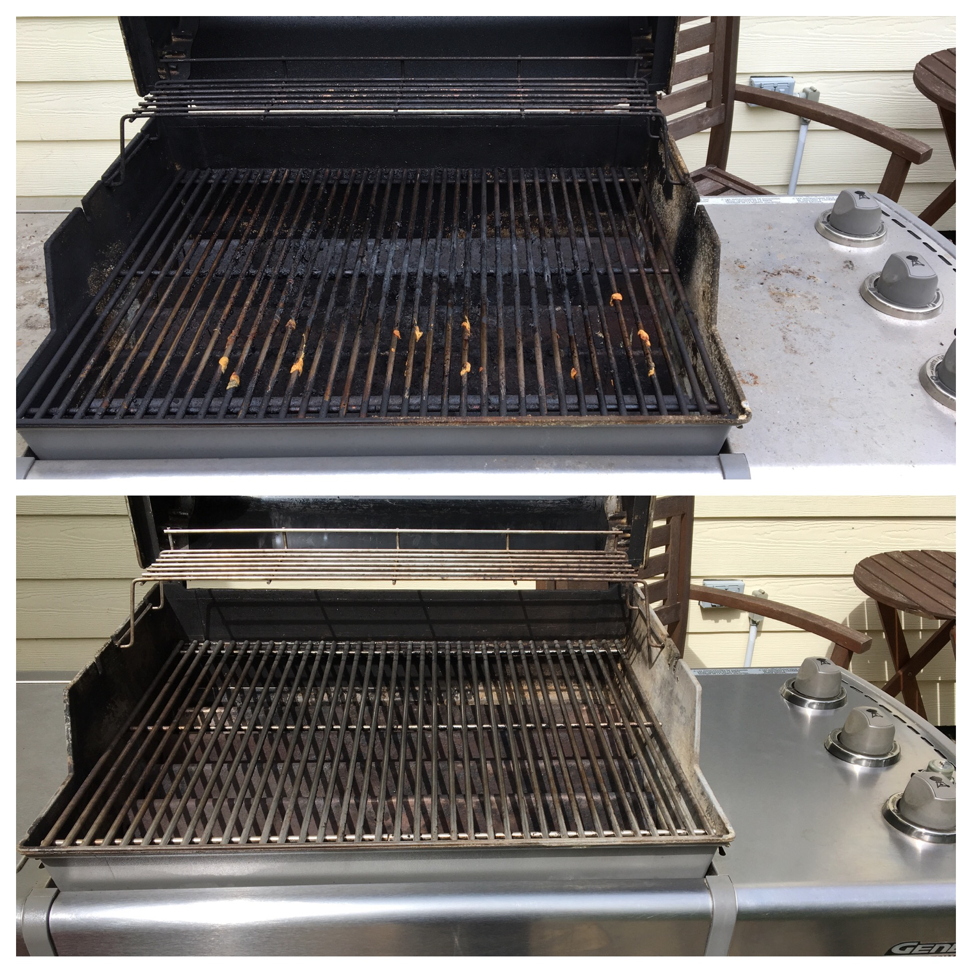 This Weber unit really came back to life. (Fishers)