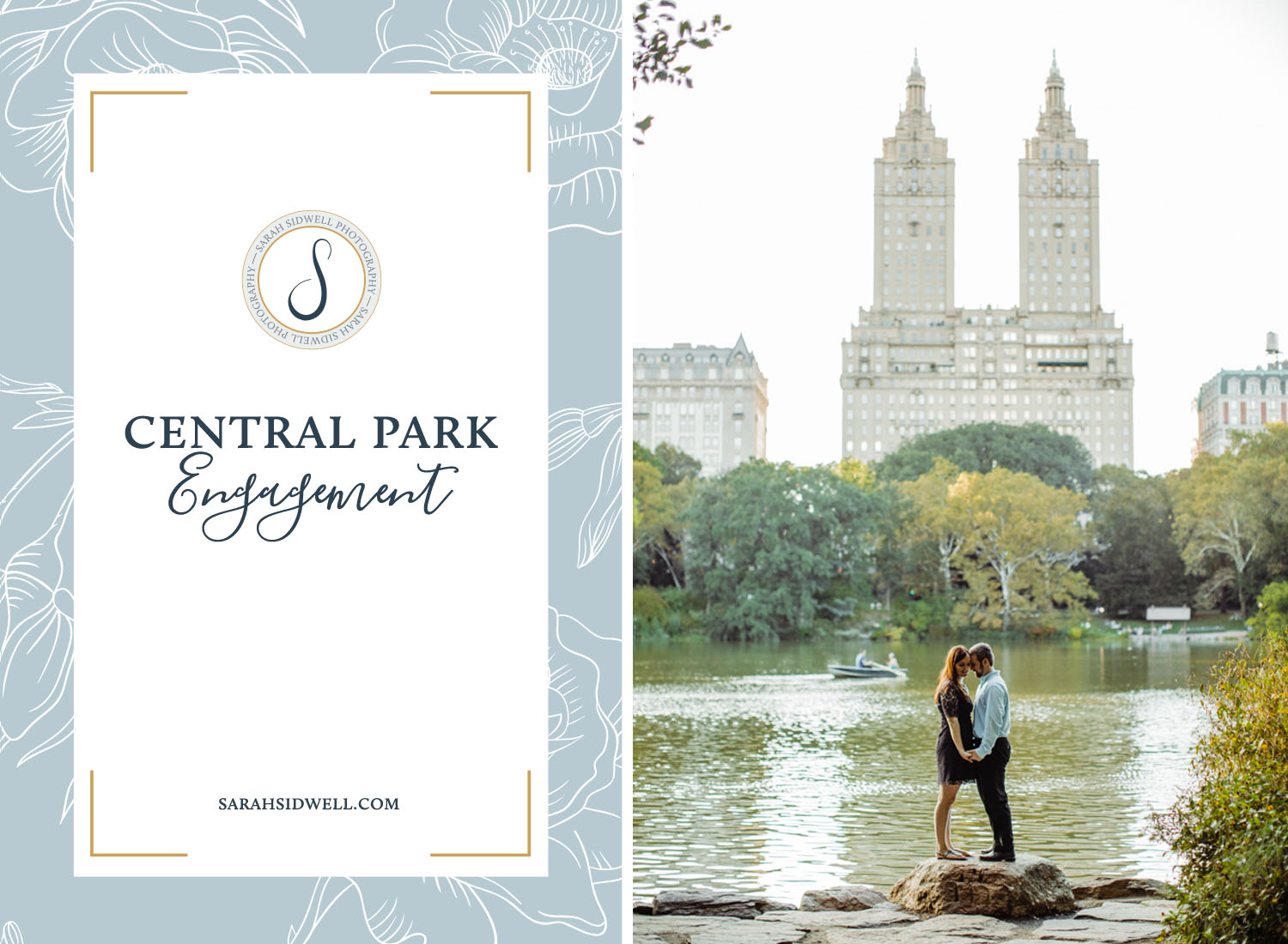 Romantic Central Park Engagement Photos taken by Nashville, Tennessee based photographer for New York City couple's destination wedding at the Cordelle.jpg