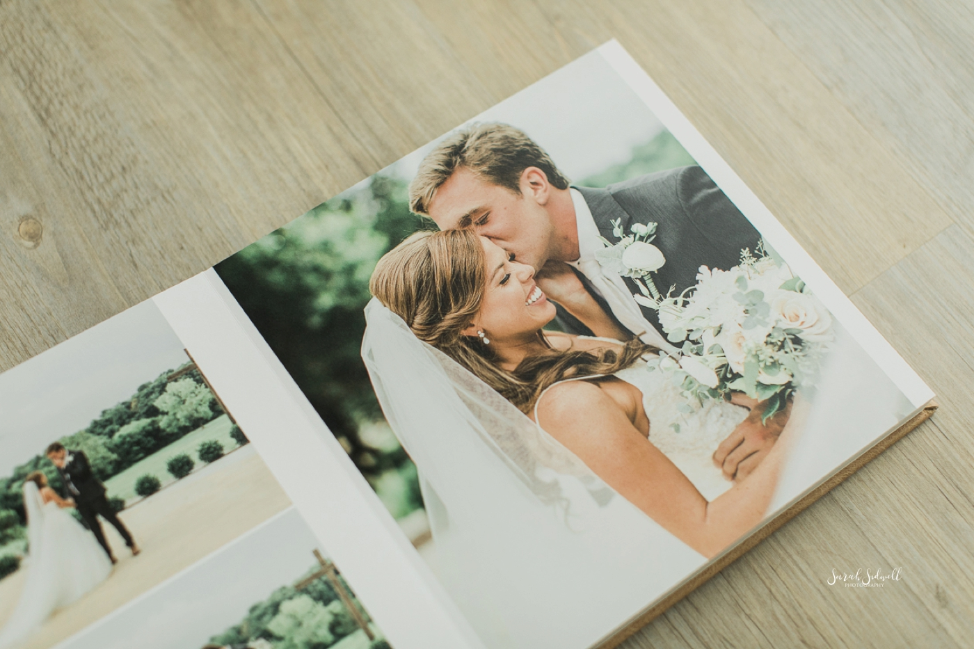 Heirloom Wedding Album | Sarah Sidwell Photography