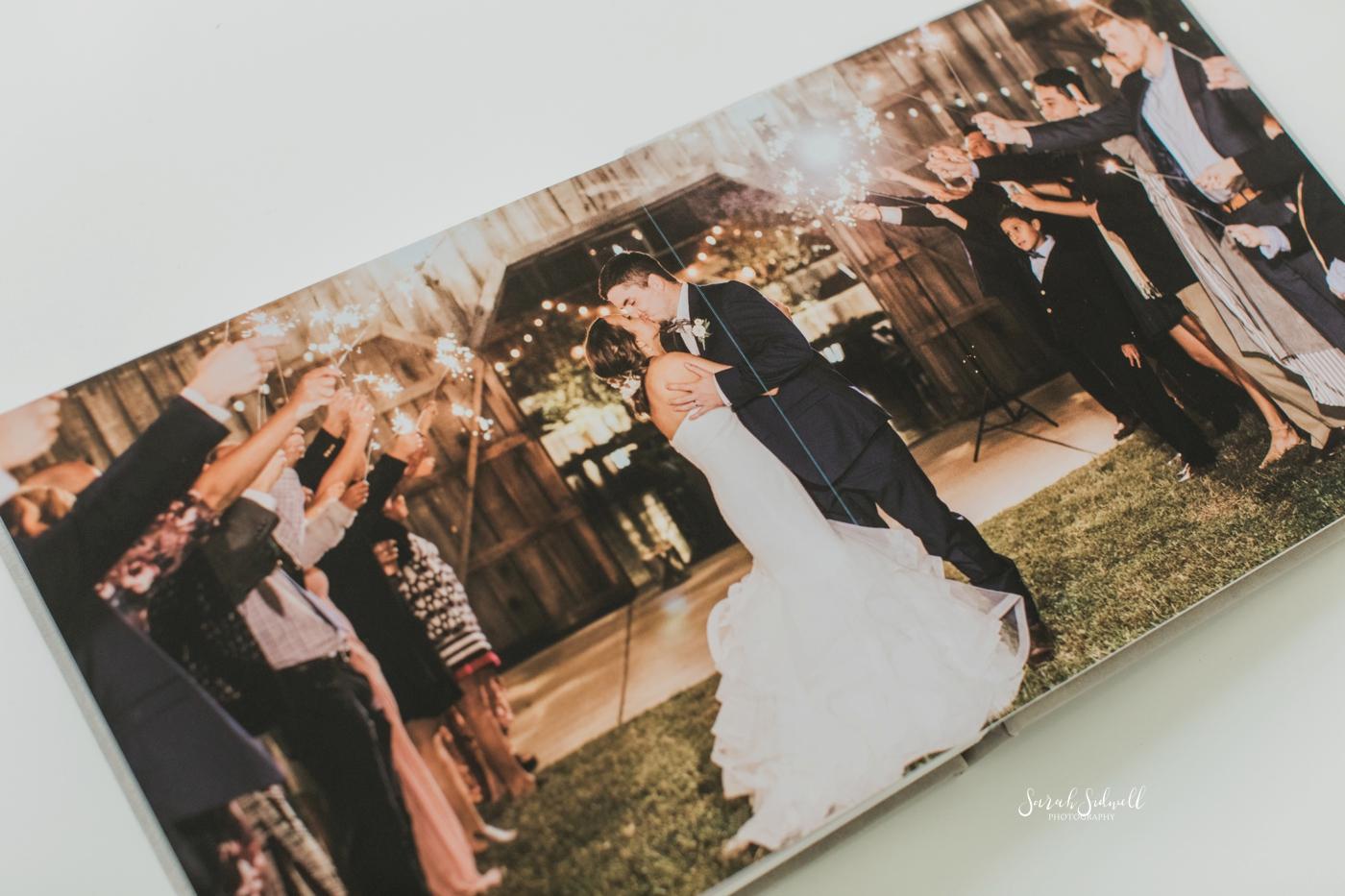 Elegant Wedding Album | Sarah Sidwell Photography