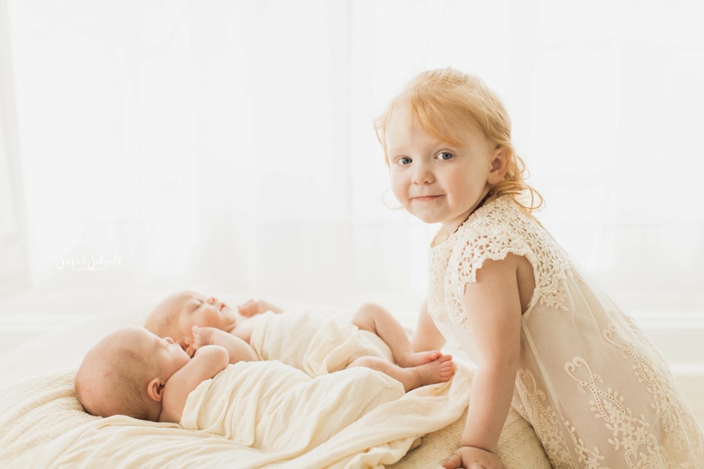 Newborn Twin Session | Sarah Sidwell Photography