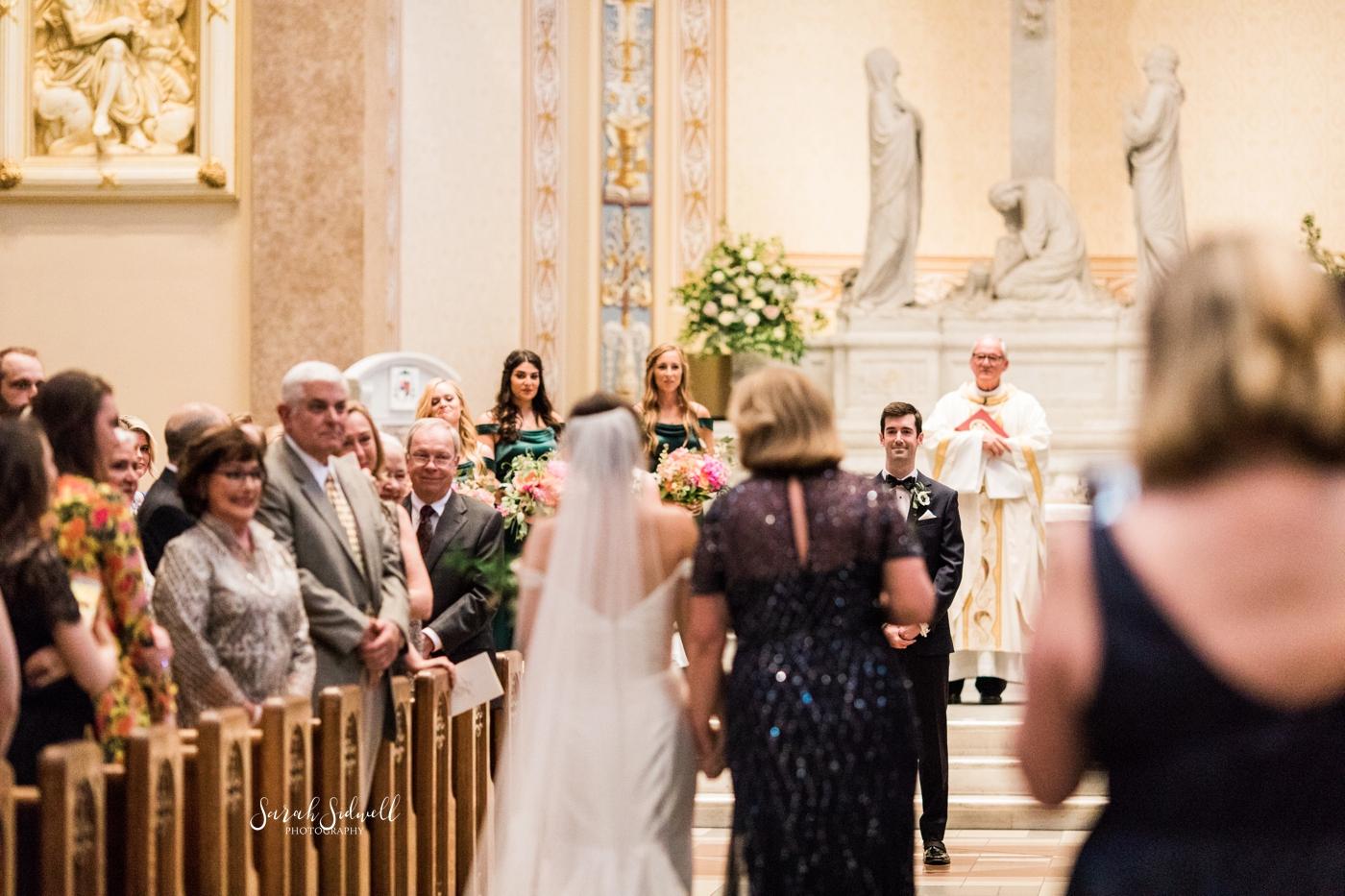 Cathedral of the Incarnation Wedding | Elizabeth & Ryan