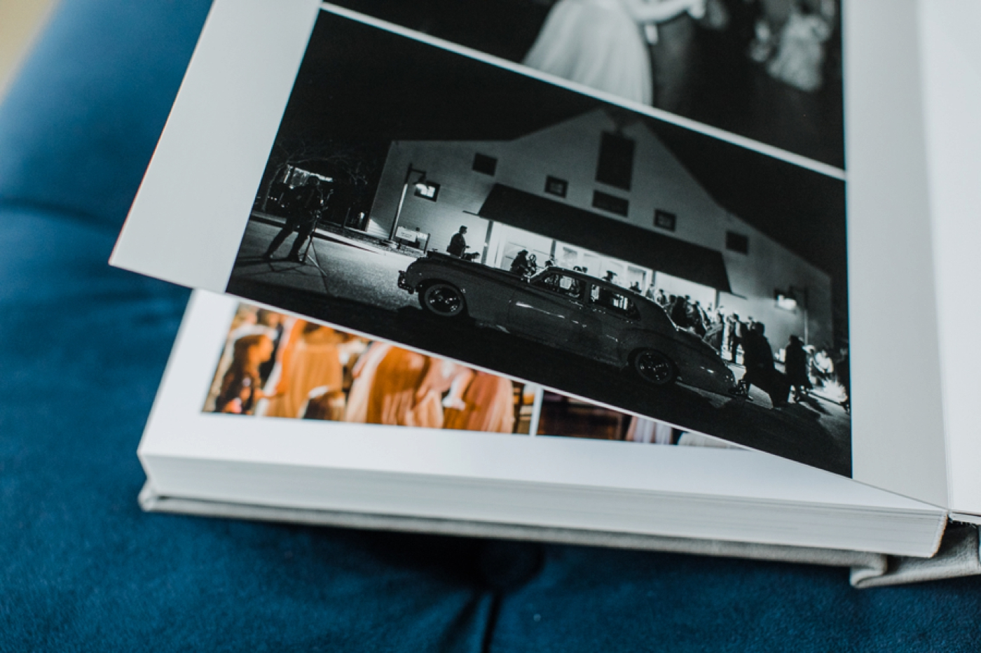 Heirloom Wedding Album | Brad & Lindsey